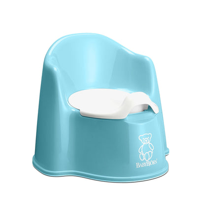 Ababy-ababy.com.au-BabyBjorn Potty Chair - Turquoise-Bath & Health-BabyBjorn-Ababy