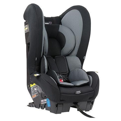 Ababy-ababy.com.au-Babylove Cosmic II Convertible Car Seat - Black-Car Safety-Babylove-Ababy