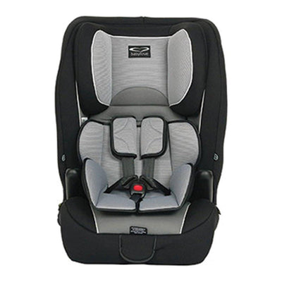 Ababy-ababy.com.au-Babylove Ezy Grow EP - Harnessed Car Seat - Silver-Car Safety-Babylove-Ababy