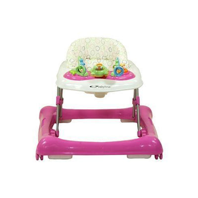 Ababy-ababy.com.au-Babylove Jazz Baby Walker - Pink-Babylove-Ababy