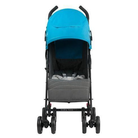 Babylove Maxima XR Layback Stroller - Carribean Blue