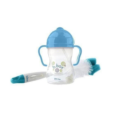 Ababy-ababy.com.au-B.Box 2-in-1 Bottle and Teat Cleaner - Aqua Grove-Feeding-B.Box-Ababy