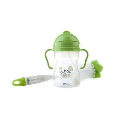 Ababy-ababy.com.au-B.Box 2-in-1 Bottle and Teat Cleaner - Lime Twist-Feeding-B.Box-Ababy
