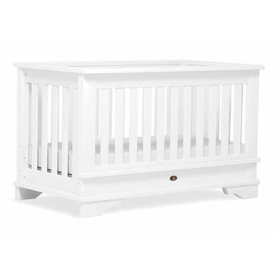 Ababy-ababy.com.au-Boori Eton Expandable Cot - Mattress purchased seperately-Nursery-Boori-White B-ETEXP-Ababy