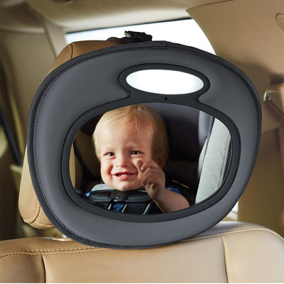 Ababy-ababy.com.au-Brica NIGHT LIGHT BABY-IN-SIGHT MUSICAL MIRROR-Car Safety-Brica-Ababy