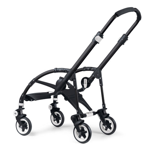 Ababy-ababy.com.au-Bugaboo Bee3 Chassis - Black-Prams & Strollers-Bugaboo-Ababy