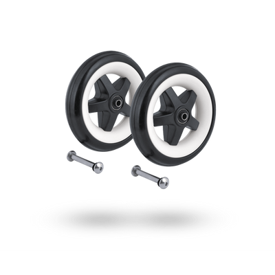Ababy-ababy.com.au-Bugaboo Bee3 Rear Wheels Replacement Set-Prams & Strollers-Bugaboo-Ababy