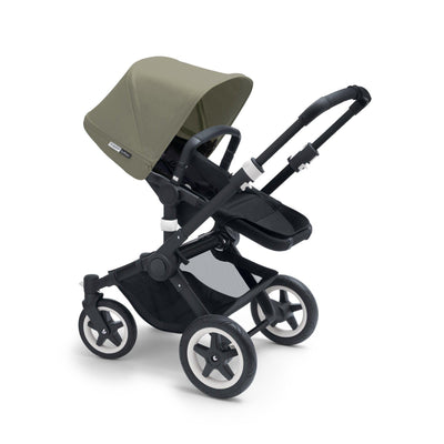 Ababy-ababy.com.au-Bugaboo Buffalo Sun Canopy (Extendable) - Dark Khaki-Prams & Strollers-Bugaboo-Ababy