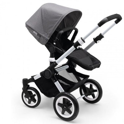 Ababy-ababy.com.au-Bugaboo Buffalo Sun Canopy (Extendable) - Grey Melange-Prams & Strollers-Bugaboo-Ababy