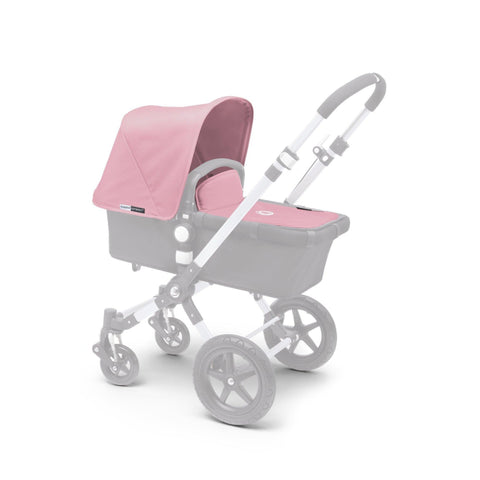 Ababy-ababy.com.au-Bugaboo Cameleon³ Tailored Fabric Set (Extendable Sun Canopy) - Soft Pink-Prams & Strollers-Bugaboo-Ababy