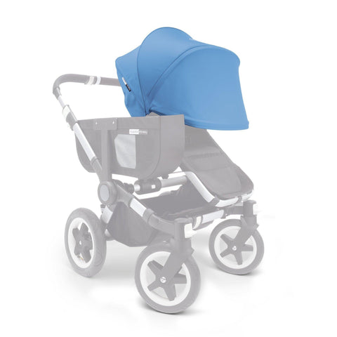 Ababy-ababy.com.au-Bugaboo Donkey Sun Canopy (Extendable) - Ice Blue-Prams & Strollers-Bugaboo-Ababy