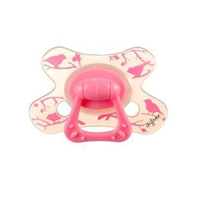 Ababy-ababy.com.au-Difrax Soother 18+ Months Dental - Girl-Feeding-Difrax-Ababy