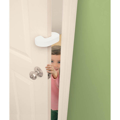 Ababy-ababy.com.au-Dreambaby 2 Door stoppers - Finger Pinch Guard (2 pack)-Home Safety-Dreambaby-Ababy