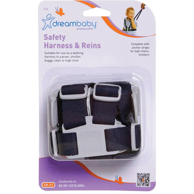 Ababy-ababy.com.au-Dreambaby F250 Safety Harness & Reins-Out & About-Dreambaby-Ababy