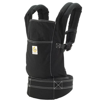 Ababy-ababy.com.au-Ergobaby Original X-TRA Baby Carrier - Black/Black-Out & About-Ergobaby-Ababy