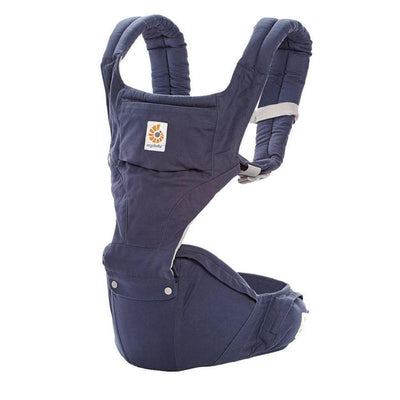 Ababy-ababy.com.au-Ergobaby Six Position Hip Seat Baby Carrier - Twilight Blue-Out & About-Ergobaby-Ababy