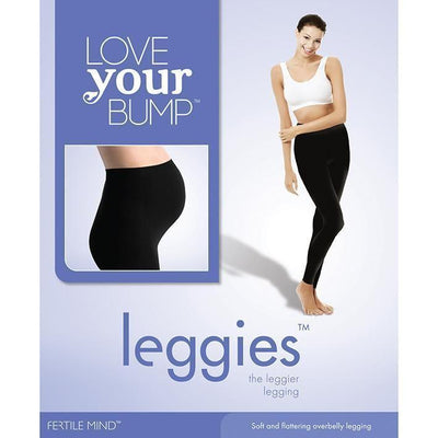 Ababy-ababy.com.au-Fertile Mind Leggies, Black - Tall/Large-For Mum-Fertile Mind-Ababy