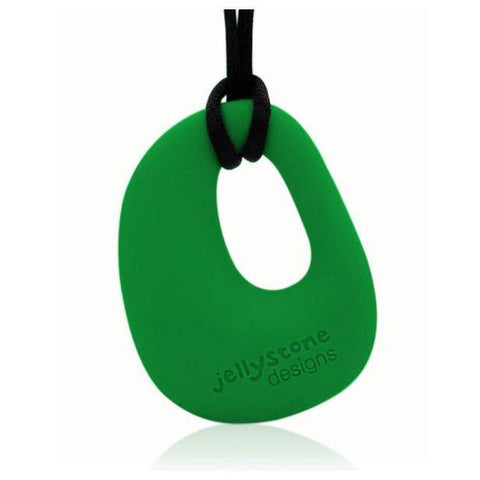 Ababy-ababy.com.au-Jellystone Designs - Organic Pendant Necklace, Grassy Green-Entertainment-Jelly Stone-Ababy