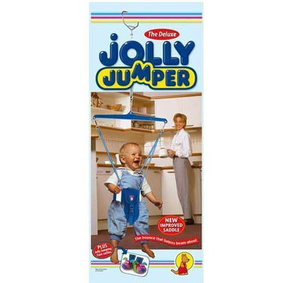 Ababy-ababy.com.au-Jolly Jumper Deluxe Bouncer with Bonus Foot Rattles-Playtime-Jolly Jumper-Ababy