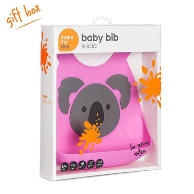 Ababy-ababy.com.au-Make My Day Baby Bib - Koala-Feeding-Make My Day-Ababy