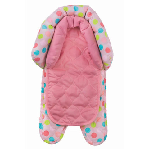 Ababy-ababy.com.au-Playette 2 in 1 Head Support - Butterfly Dots-Car Safety-Playette-Ababy
