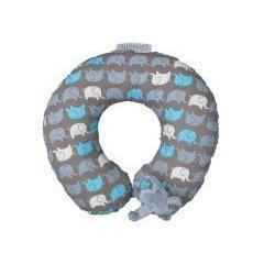 Ababy-ababy.com.au-Playette Animal Neck Roll - Elephant-Car Safety-Playette-Ababy