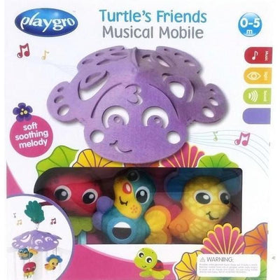 Ababy-ababy.com.au-Playgro Turtle Friends Musical Mobile-Nursery-Playgro-Ababy