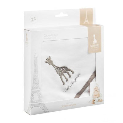 Ababy-ababy.com.au-Sophie La Giraffe Hooded Towel-Bath & Health-Les Folies-Ababy