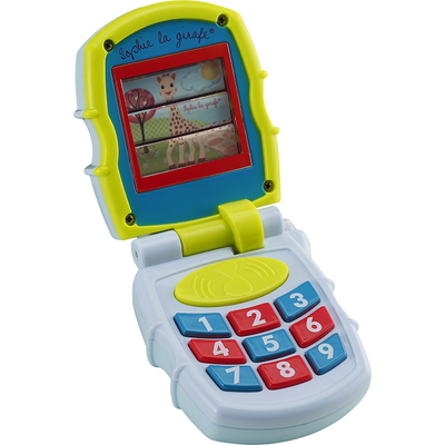 Ababy-ababy.com.au-Sophie La Giraffe Musical Phone-Playtime-Les Folies-Ababy