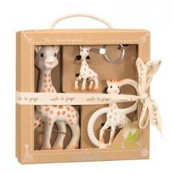 Ababy-ababy.com.au-Sophie The Giraffe So Pure Trio-Playtime-Les Folies-Ababy