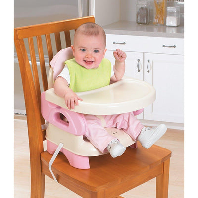 Ababy-ababy.com.au-Summer Infant Comfort Folding Booster Seat-Feeding-Summer-Pink-Ababy