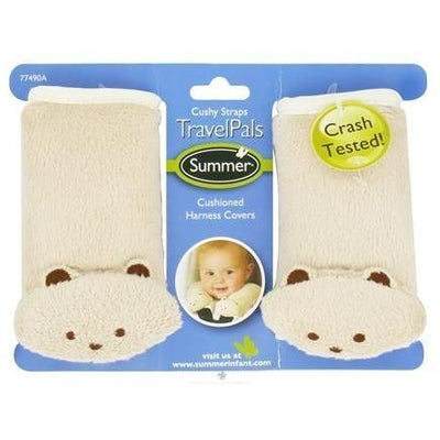 Ababy-ababy.com.au-Summer Infant Cushioned Harness Covers - Bears-Car Safety-Summer Infant-Ababy