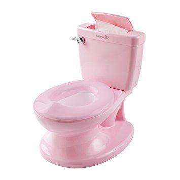 Ababy-ababy.com.au-Summer Infant My Size Potty (Mini Toilet Potty)-Bath & Health-Summer Infant-Pink-Ababy