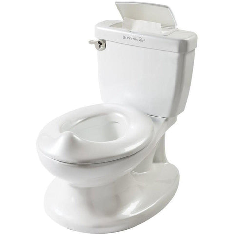 Ababy-ababy.com.au-Summer Infant My Size Potty (Mini Toilet Potty)-Bath & Health-Summer Infant-White-Ababy