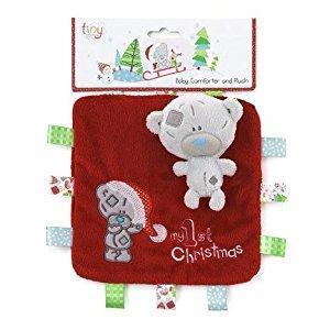 Ababy-ababy.com.au-Tatty Teddy My First Christmas Comforter-Playtime-Carte Blanche-Ababy