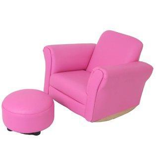 Ababy-ababy.com.au-Valco Kiddy Sofa With Ottoman Mini Furniture-Nursery-Valco-Pink-Ababy