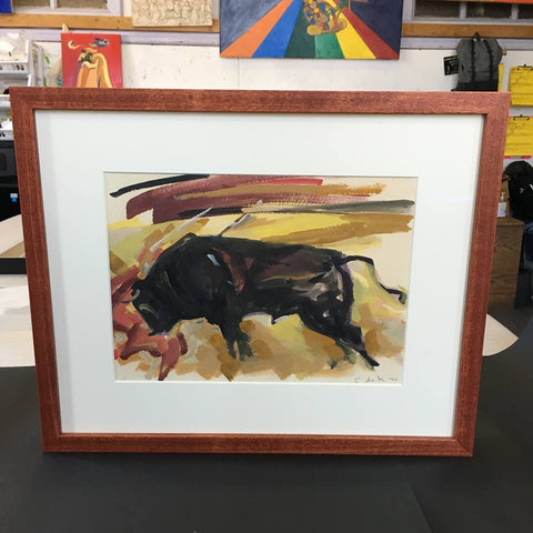 Elaine de Kooning bullfight American Abstract Expressionist Woman artist