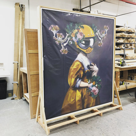 Legacy Wood Crate by Frames and Stretchers