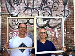 Erick Sanchez and Miguel Trelles - Founders of Frames and Stretchers
