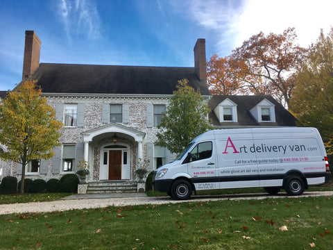 Art Delivery Van: New York City and New Haven Connecticut