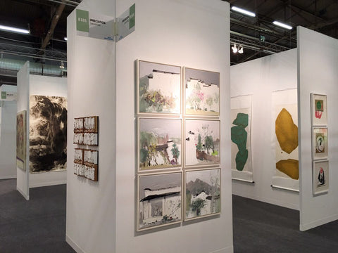 Booth installation at The Art Fair