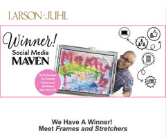 Frames and Stretchers - Winner of the Social Media Maven Contest by Larson Juhl
