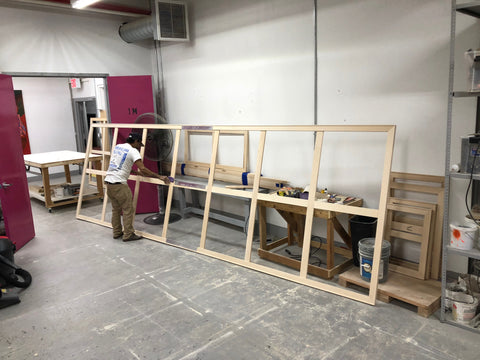 Custom Canvas Stretching New York / New Haven: Frames and Stretchers