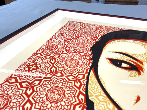 Museum-quality-picture-framing-in-Miami-Wynwood
