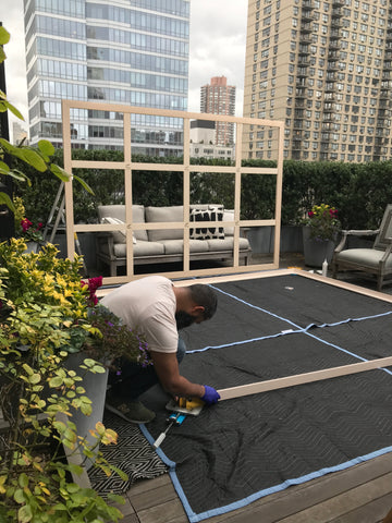 Onsite_Art_Installation_Stretcher_Bars_New_York_Miami-New-Haven-Team_Frames_and_Stretchers