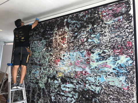 best-reputation-art-installation-services-Miami-NYC-New-Haven-CT-Private-Collectors-Home