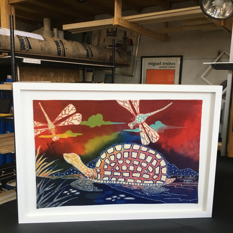 framing-sewing-stitching-handcrafted-turtle-white