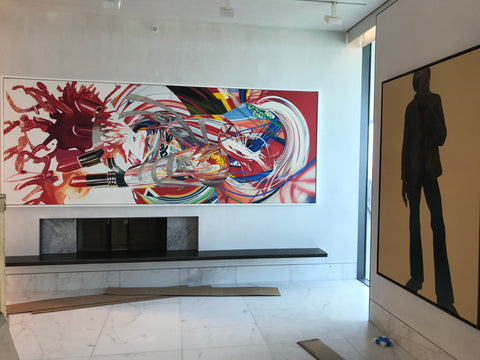 Best Fine Art Installation Company in Miami - Frames and Stretchers - iart Services Miami New York