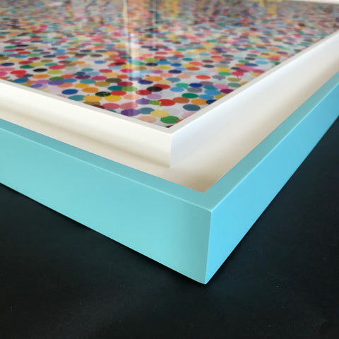 Damien Hirst: Fine Art Framing by Frames and Stretchers NYC