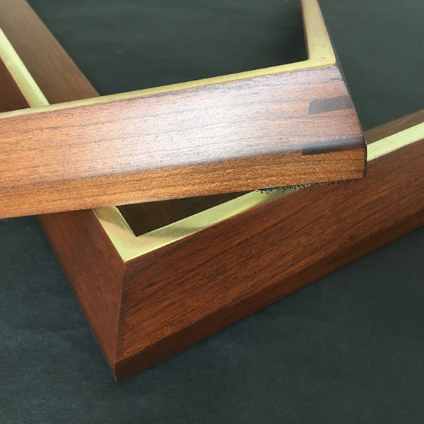 Museum Quality hardwood modern frames with or without gilding for paintings and photographs